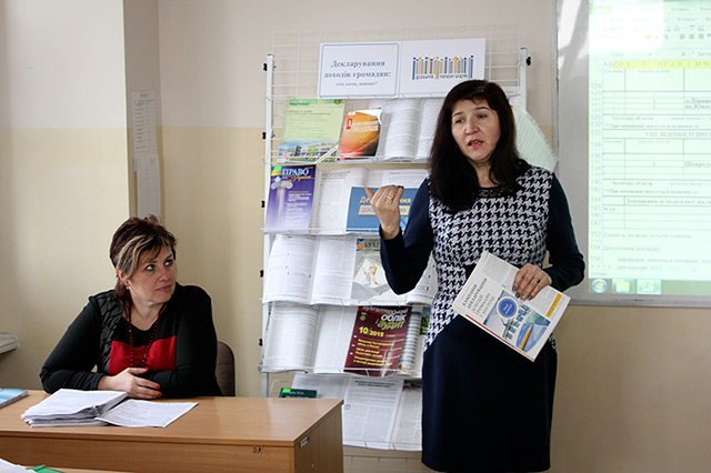 Майбутні економісти Вінницького торгівельно-економічного інституту вчилися декларувати доходи