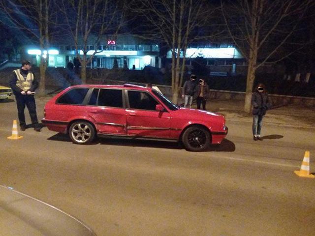 Вчора на вул. 600-річчя не розсинулись BMW та Volkswagen