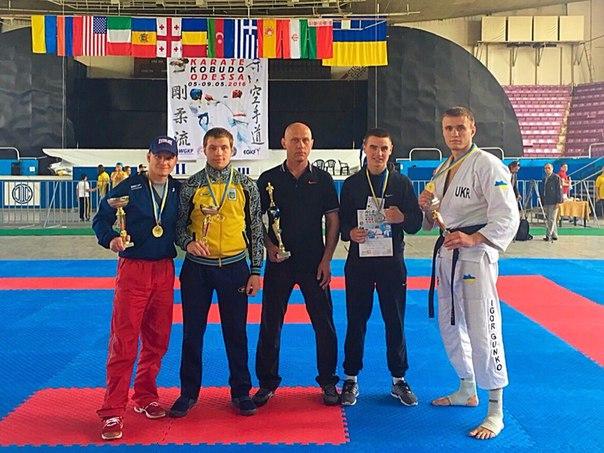 Вінничанин Ігор Гунько посів перше місце на Кубку світу з годзю-рю карате-до