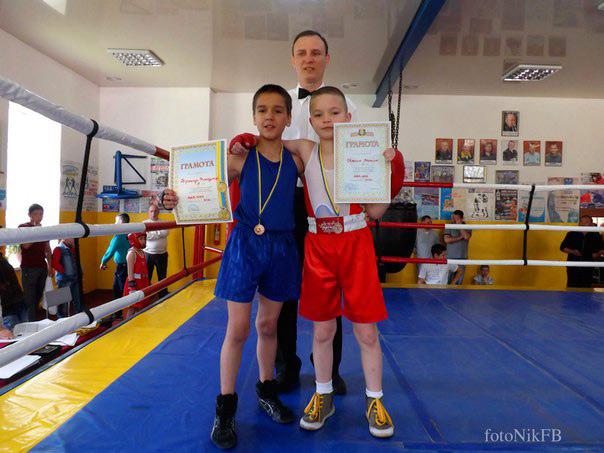 Юні вінницькі боксери стали переможцями всеукраїнського турніру з боксу