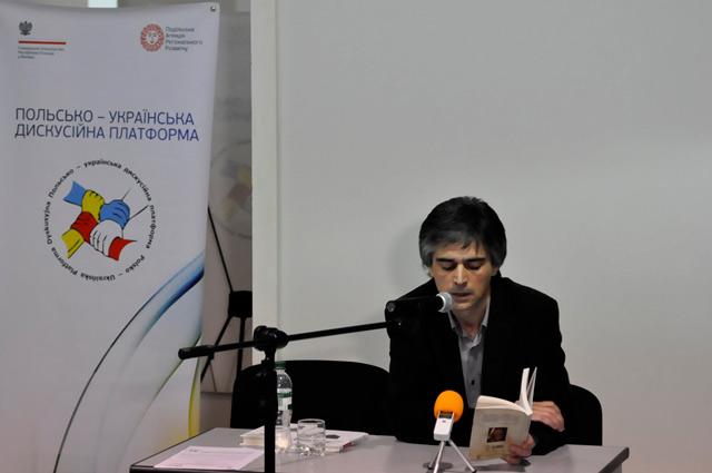 У Вінниці Олександр Бойченко презентував збірку «50 відсотків рації» та книгу про Анголу