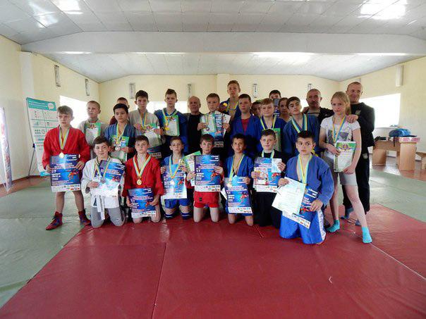 У Вінниці пройшов обласний чемпіонат з боротьби самбо