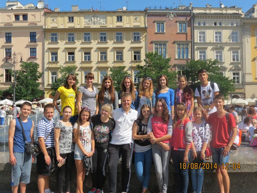 Вінницька молодь тиждень переймала досвід від польських друзів