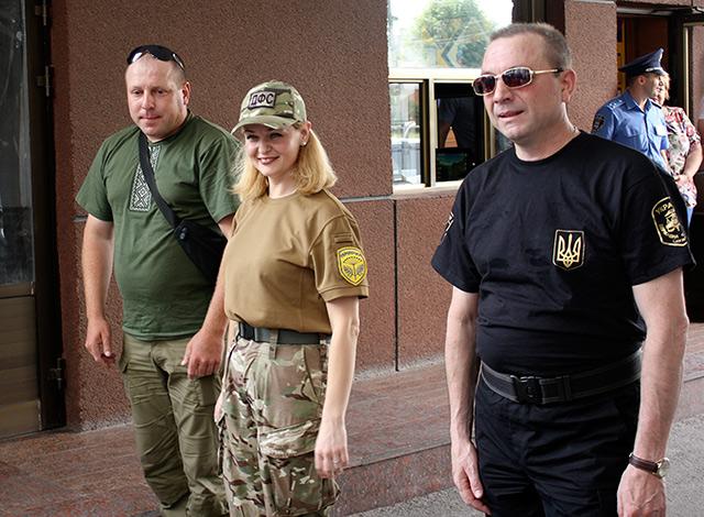 """Спецпідрозділ фіскальної служби Вінниччини """"Фантом""""повернулися із зони АТО"""