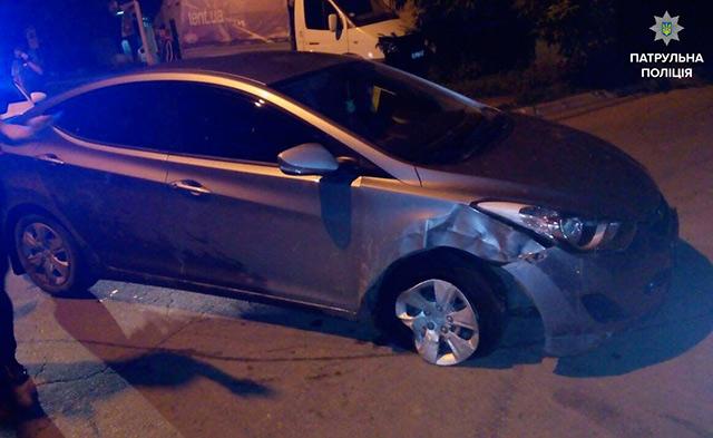 На вул. Я.Шепеля затримали водія, у крові якого вміст алкоголю перевищував норму в 13 разів