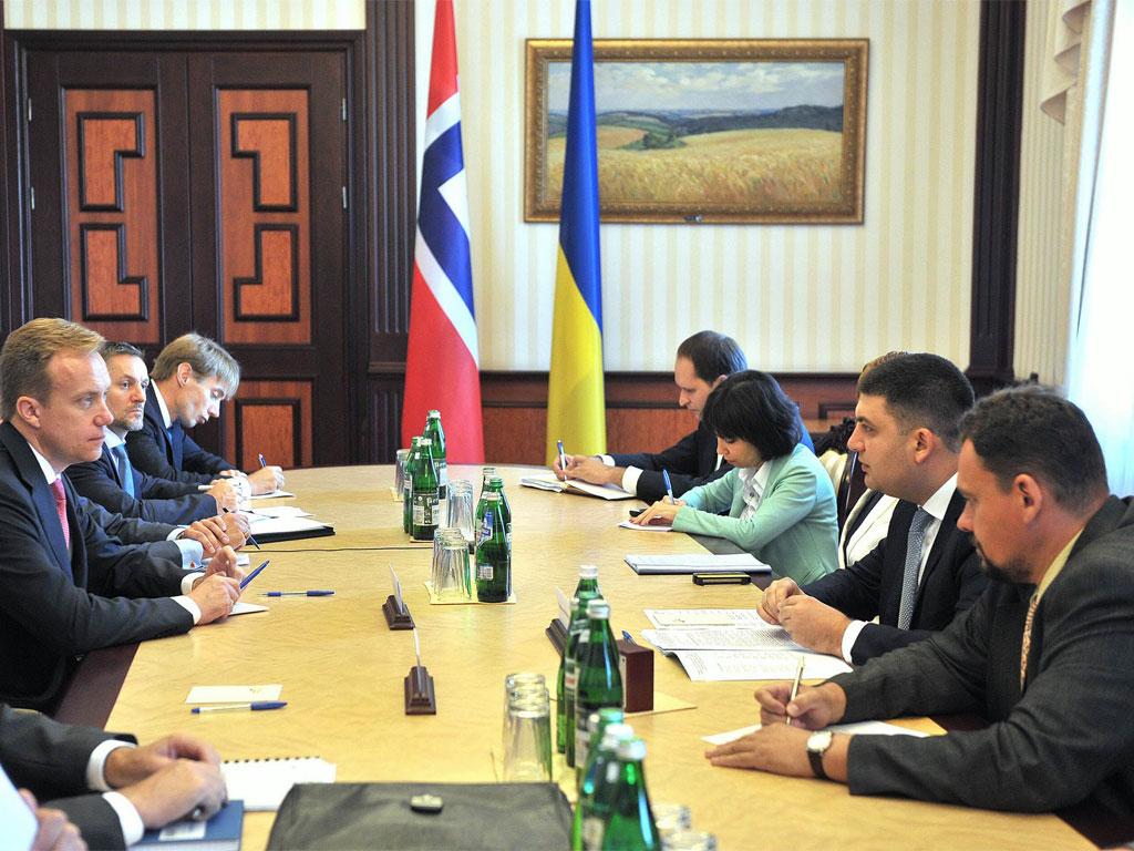 Норвегія запропонувала Україні експертну допомогу у проведенні адміністративної реформи