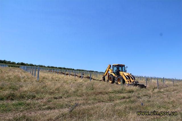 На Вінниччині  будують сонячну електростанцію