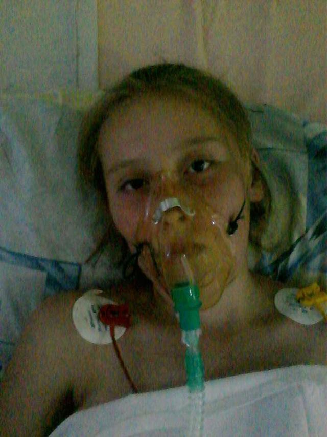 12-річна Альона Загнітко потребує термінової трансплантації легенів та серця. Потрібна фінансова допомога