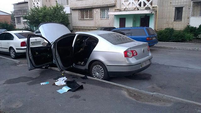 У Вінниці за добу двічі горіли автівки