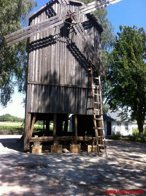 В Козятинському районі в музеї Хліба розпочали реконструкцію вітряка