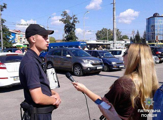 Журналісти вінницьких ЗМІ разом із поліцейськими спільно патрулювали залізничний вокзал