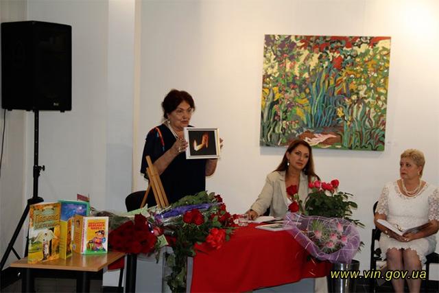 Галина Круковська-Каченаускенс презентувала свою нову книгу «Планета золотокрилих»