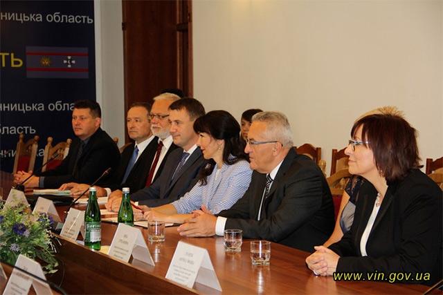 Валерій Коровій та Мартін Пута підписали протокол про співпрацю Вінниччини із Ліберецьким краєм Чеської Республіки