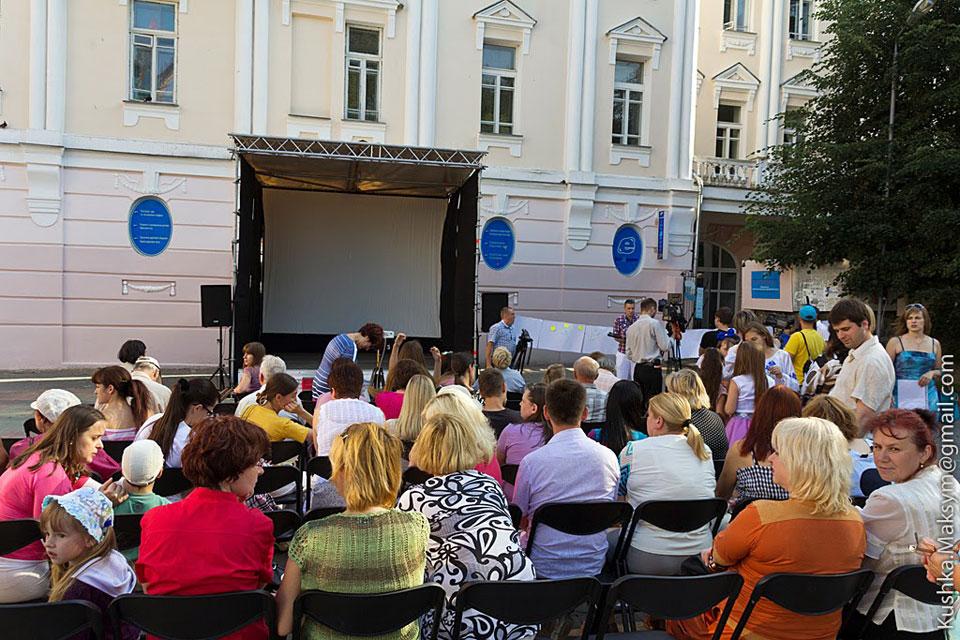 Вінницький кінодворик запрошує переглянути українське кіно просто неба