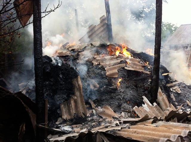 На Вінниччині через дитячі пустощі з вогнем згоріло 7 тонн сіна
