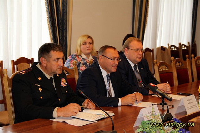 Польські рятувальники приїхали до Вінниці, аби ознайомитися із роботою своїх вінницьких колег