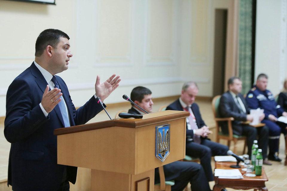 Володимир Гройсман назвав попередню оцінку вартості відновлення Донбасу та забезпечення потреб переміщених осіб