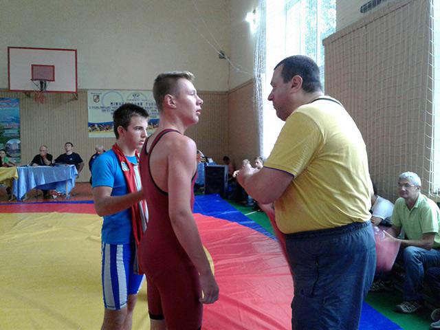 На Міжнародному турнірі з греко-римської боротьби вінничани здобули три золоті медалі