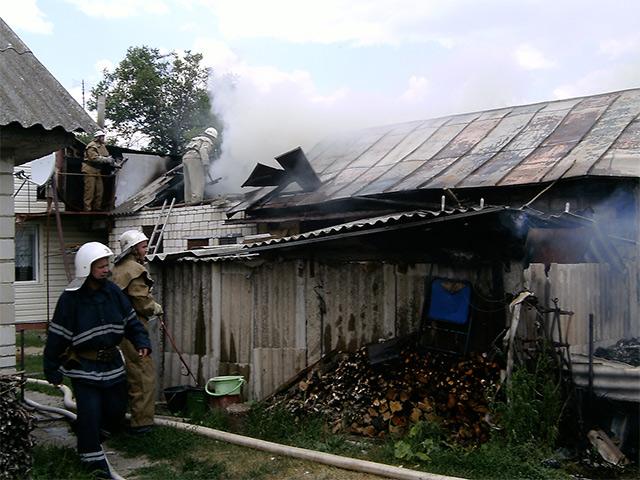 Через розгерметизацію газового стояка на Вінниччині згоріла літня кухня
