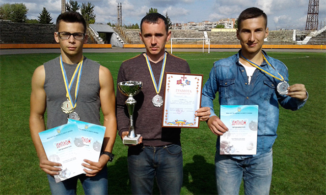Вінницька команда зайняла ІІ місце у Всеукраїнській спартакіаді серед допризовної молоді