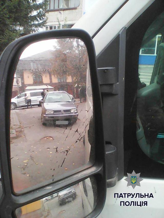 У Вінниці двоє водіїв побились за паркувальне місце
