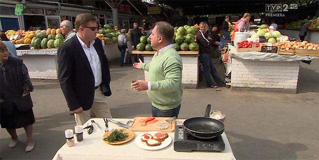 Польські журналісти підготували майже півгодинну програму про цікавинки та кулінарні «фішки» Вінниці