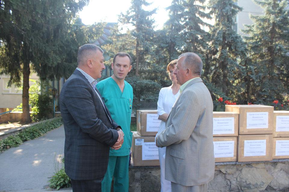 Профспілки освітян Вінниччини допомагає пораненим бійцям із зони АТО