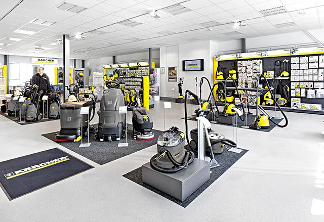 В Виннице открылся фирменный магазин техники Kärcher