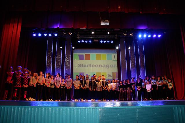 Вінницькі шкільні СТАРтінейджери провели півфінальний танцювальний батл