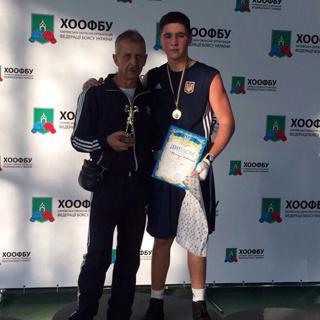 Вінничанин Володимир Кушнір став чемпіоном всеукраїнського турніру з боксу