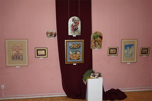 «Акварельні мандрівки» художників Возіянових представляють у Вінниці новий проект «Арт-родина»