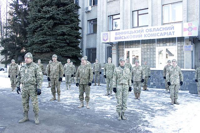 Військовослужбовці обласного військкомату долучились до флешмобу 22 Push-Up Challenge