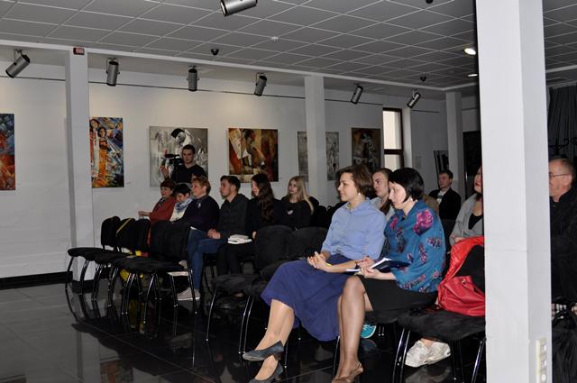 Олександр Бойченко презентував у Вінниці перекладену книгу Марека Гласко