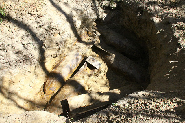В Калинівському районі неподалік села знайшли п'ять 500-кілограмових фугасних бомб