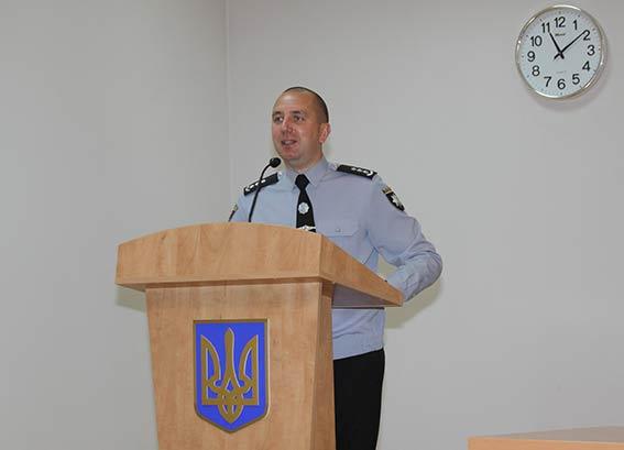 Юрій Педос відзначив кращих дільничних офіцерів поліції
