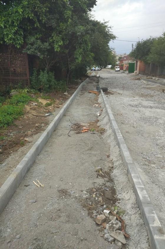 На Замості будують дорогу по вулиці Верхарна
