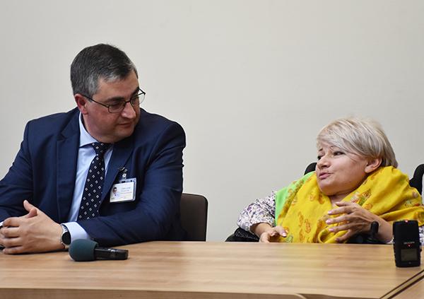 Раїса Панасюк та Владислав Скальський