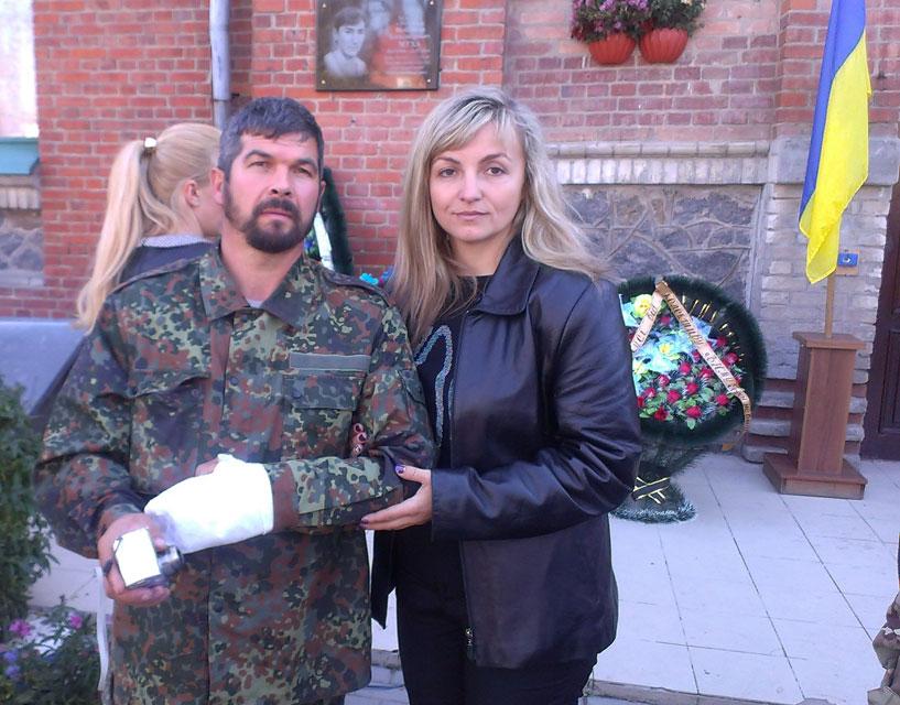 У Гайсині відкрили меморіальну дошку Володимиру Мусі, який героїчно загинув під Луганськом
