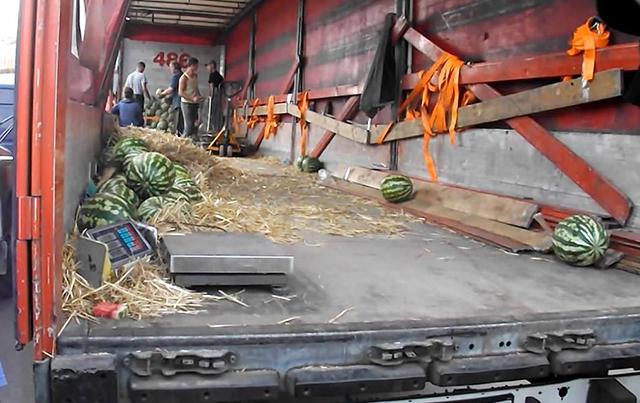 За перший тиждень серпня Муніципальна поліція зафіксувала 5 випадків торгівлі кавунами у невстановленому місці
