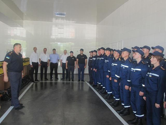 Літинські рятувальники отримали спецобладнання на суму понад мільйон гривень