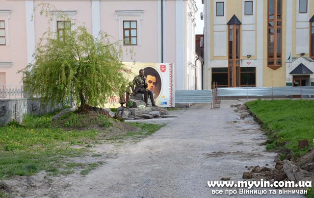 Розпочалась реконструкція площі Тараса Шевченка