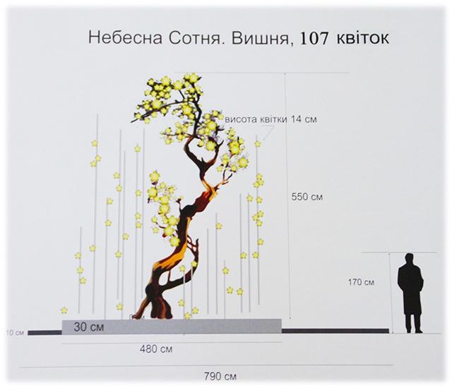 Бронзове «Дерево Свободи» розквітне у Вінниці на честь Героїв Небесної Сотні