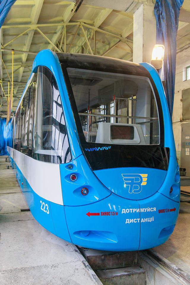 На вулицях Вінниці скоро курсуватиме вже сьомий трамвай VinWay, у ВТК приступили до виготовлення восьмого