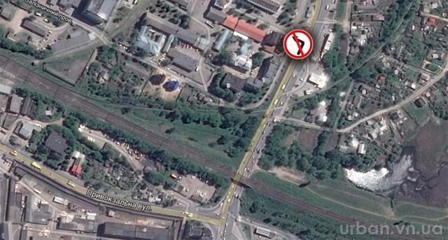 На чотирьох вулицях Вінниці заборонять поворот ліворуч