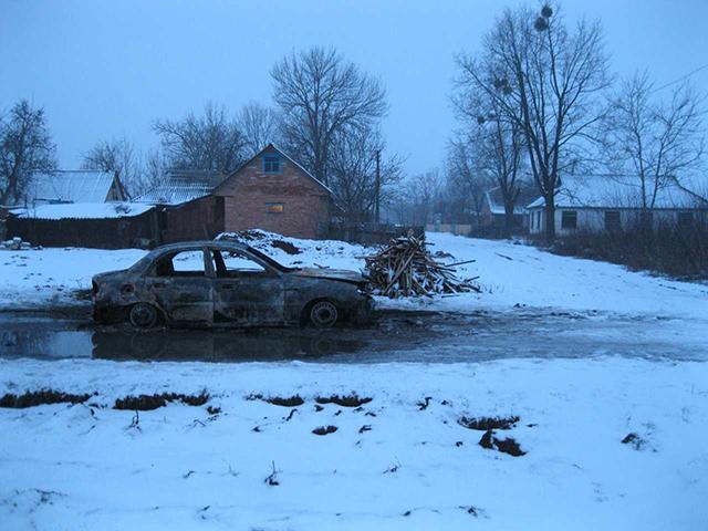 На Вінниччині в автомобілі згорів чоловік. Поліція розслідує обставини та причини смерті людини