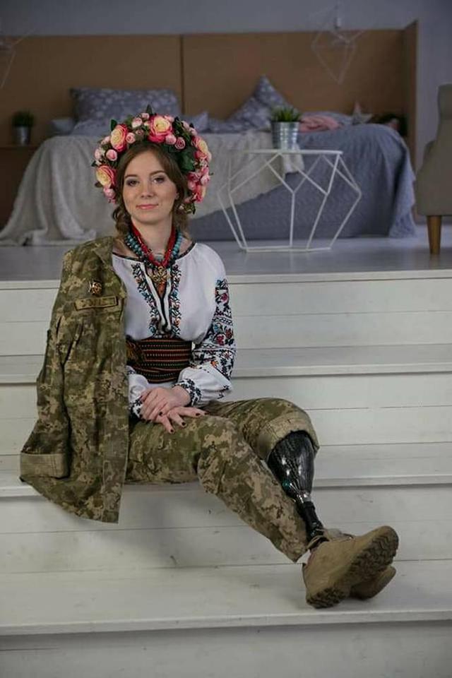 Вінничанка Ольга Бенда перемогла у конкурсі краси серед військових «Miss Military Fantasy»