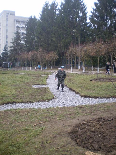 На території військо медичного центру Центрального регіону з'явиться алея слави героїв АТО