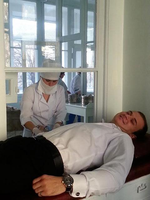 Працівники ПриватБанку у Вінниці здали для дітей 20 л крові