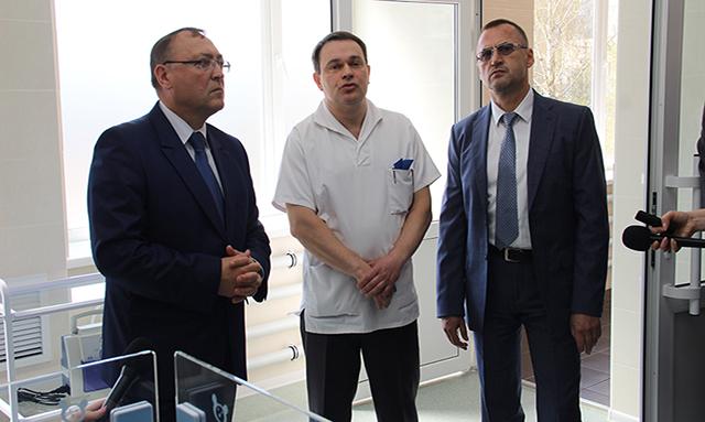 У Вінницькій обласній дитячій лікарні відкрили сучасний операційний блок