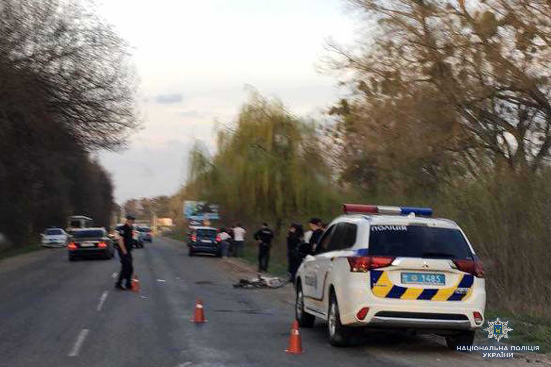 Поліція встановлює обставини аварії, в якій постраждала жінка-велосипедист